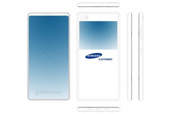 Schermo anche sul retro per i prossimi Samsung Galaxy