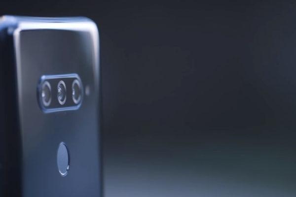 LG V40: il primo smartphone morbido con 5 fotocamere