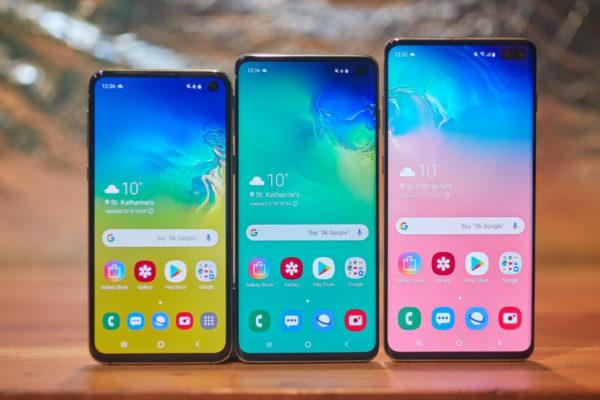 Ecco i nuovi smartphone Samsung Galaxy S10