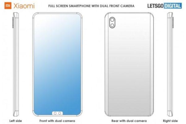 Xiaomi, lo smartphone con le fotocamere frontali basse